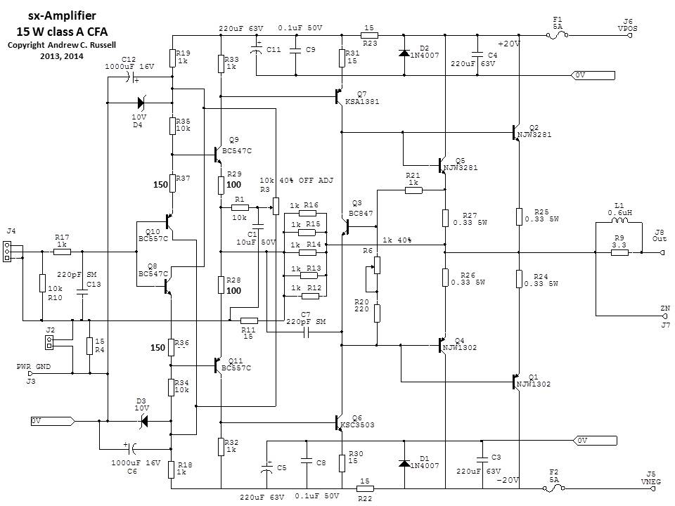 sx-Amplifer Circuit